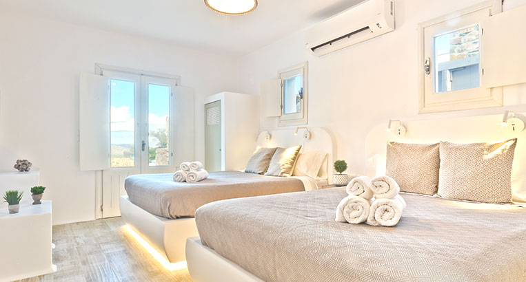 Lux view Villas seaview bedrooms