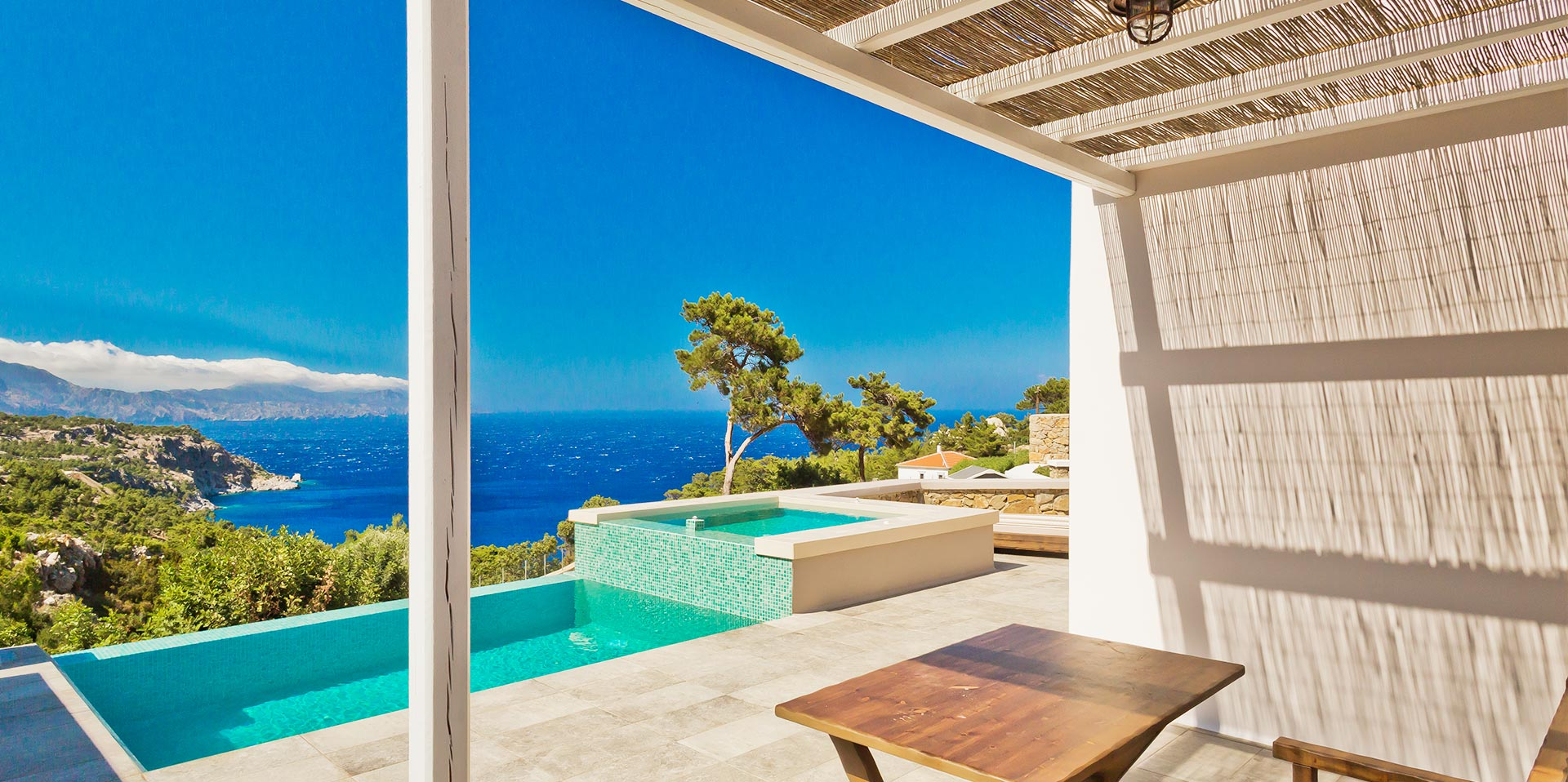 Lux Vew Suites, Oceanview Villas Karpathos Island Greece